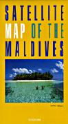 Maldives satellite image travel map