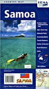 Samoa tourist map