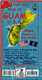 Guam travel map