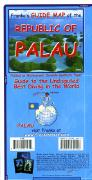 Palau travel map
