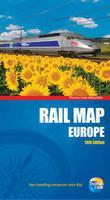 Europe rail map