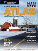 USA medium road atlas