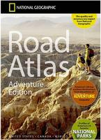 USA Adventure road atlas