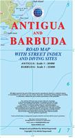 Antigua and Barbuda travel map