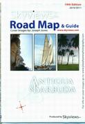 Antigua tourist map