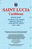 St. Lucia road map