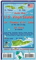 Virgin Islands Dive Map