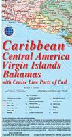 Caribbean Islands Travel Map