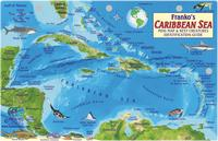Caribbean Sea guide map