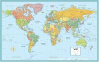Rand McNally World political map