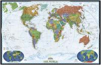 National Geographic World Political Map.World Maps From Omnimap The World S Leading International Map Store
