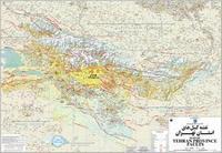 Tehran Province Faults map