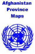 Afghanistan province maps