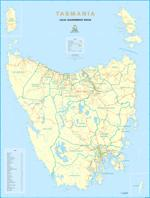 Tasmania Local Government map