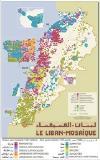 Lebanon Religions map