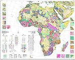 Metallogenic Map of Africa