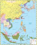 Southeast Asia Container Ports map