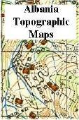 Albania topographic maps