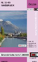 Austria 1:250,000 topographic map