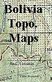 Bolivia topographic maps