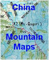 China mountain map