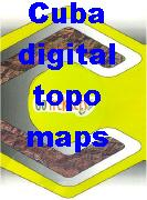 Cuba digital topographic maps