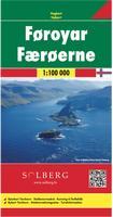 Faroe Islands topographic map