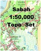 Sabah Topographic Maps