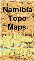 Namibia Topographic Maps