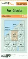 New Zealand topographic map