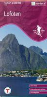 Lofoten Islands hiking map