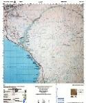 Peru topographic map