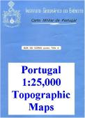 Portugal topographic maps