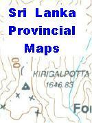 Sri Lanka province maps