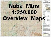Nuba Mountains Map