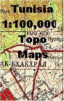 Tunisia topographic maps