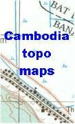 Cambodia topographic maps