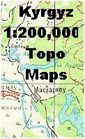 Kyrgyzstan topographic maps