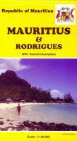 Mauritius topographic map