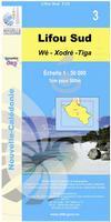 New Caledonia topographic map