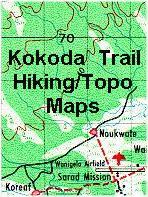 Kokoda Trail hiking maps