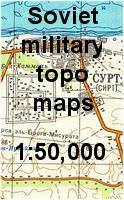 Soviet military topographic maps