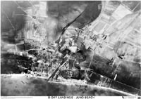 Juno Beach air photo