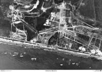 Omaha Beach air photo