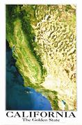 California satellite map