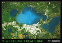 New Orleans satellite map