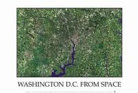 Washington DC satellite map