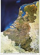 Benelux Countries satellite map