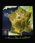 France satellite poster
