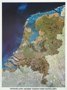 Netherlands satellite map
